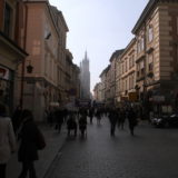 Streets of Krakow Poland
